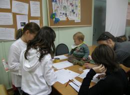 Первые учебные игры для 6 классов, осень 2010